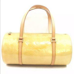 Louis Vuitton Hand Bag M91006 Bedford Yllw Vernis